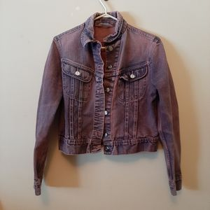 Vintage Lee Pink Denim Jacket